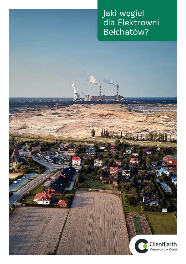 Jaki węgiel dla Elektrowni Bełchatów? (2019)