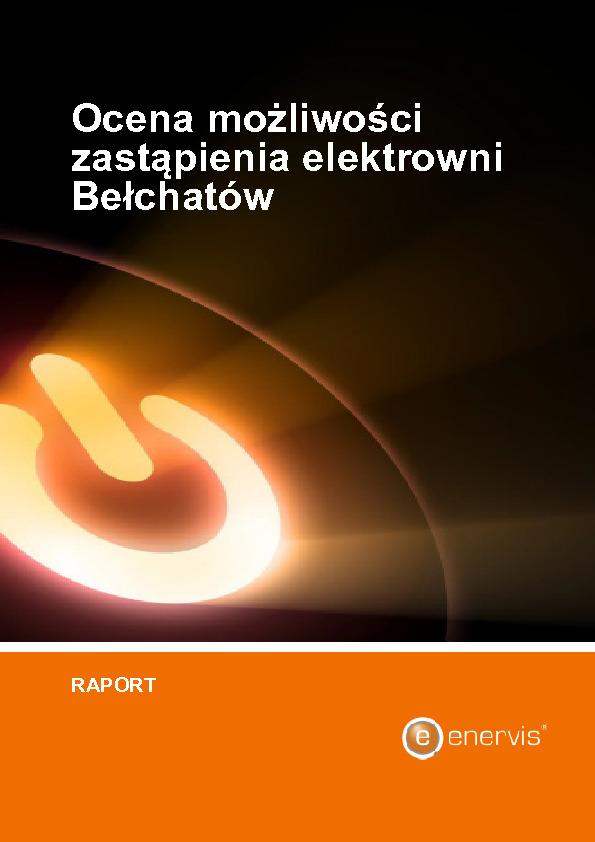Ocena możliwości zastąpienia elektrowni Bełchatów (2019)