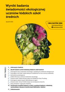 Badanie świadomości ekologicznej wśród młodzieży z Bełchatowa i okolic oraz Łodzi