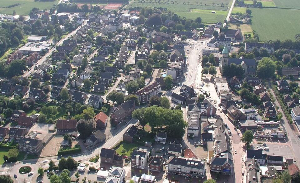 Dzielnica mieszkalna w Bottrop. Źródło: Sinus, CC BY 3.0, Wikimedia Commons